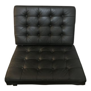 Black Barcelona Style Chair