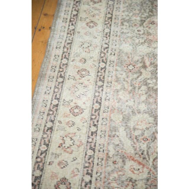 """Textile Vintage Distressed Sivas Carpet - 7'2"""" x 10'7"""" For Sale - Image 7 of 9"""