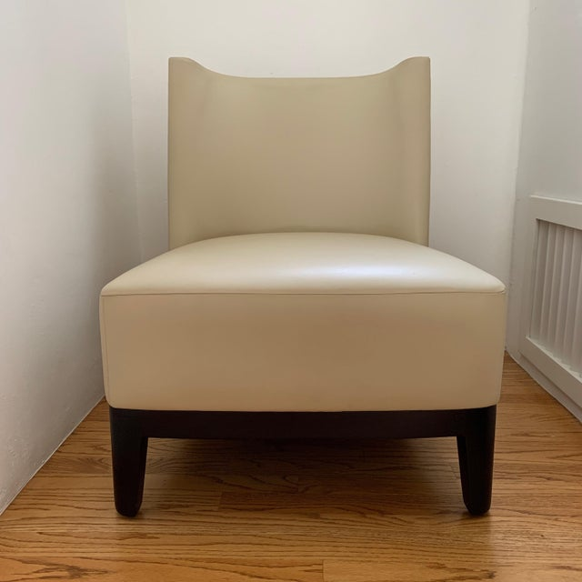 Christian Liaigre at Holly Hunt Mandarin Chair For Sale - Image 9 of 9