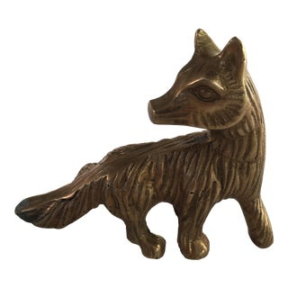 Fox Paperweight For Sale