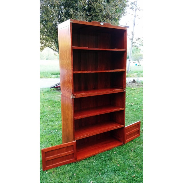 Starbay Rosewood Marco Polo Bookshelf Bookshelves - a Pair For Sale - Image 4 of 12