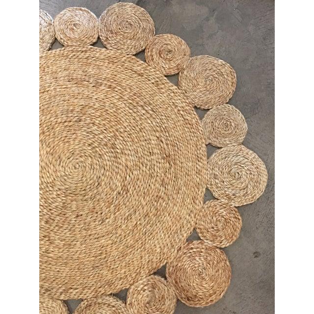 Daisy Flower Weave Rug - 3′3″ × 3′3″ - Image 5 of 7
