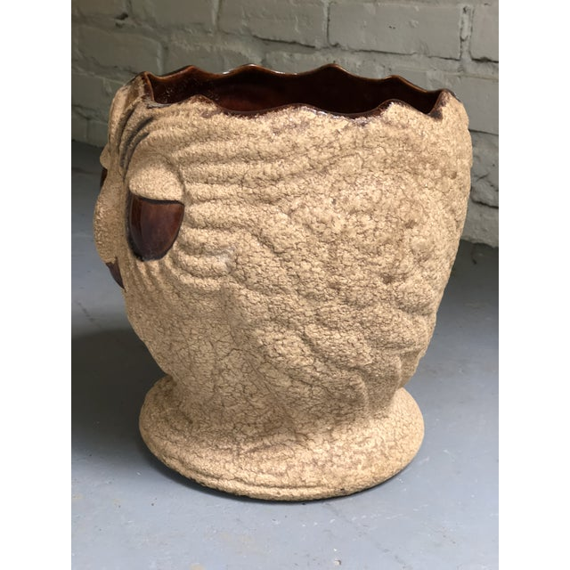 Mid Century Ceramic Owl Planter by Haeger For Sale In Atlanta - Image 6 of 10