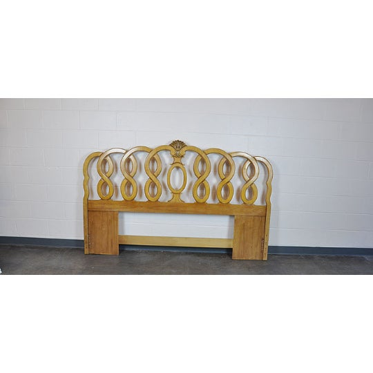 1960's Vintage French Provincial King Headboard - Image 5 of 5