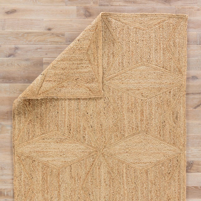 Jaipur Living Abel Natural Geometric Beige Area Rug - 10′ × 14′ For Sale - Image 4 of 6