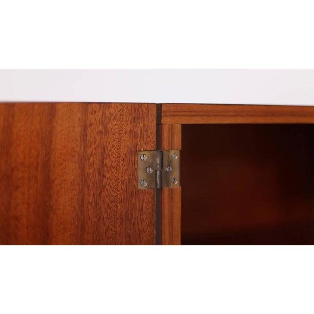 Orange Paul Geoffroy Sideboard for Bobois For Sale - Image 8 of 10