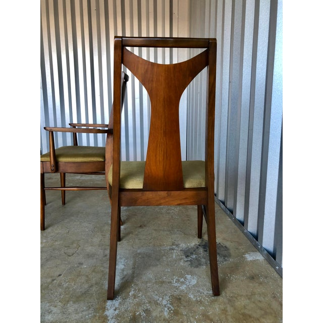 Mid Century Modern Kent Coffey Dining Chairs-Set of 6 For Sale - Image 9 of 10