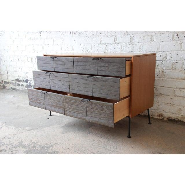 Mid-Century Modern Raymond Loewy for Mengel Mid-Century Modern Six-Drawer Dresser For Sale - Image 3 of 11