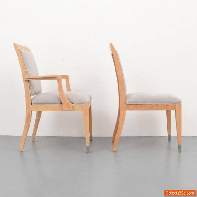 Mid 20th Century Jay Spectre for Century Mid-Century Modern Dining Chairs- Set of 8 For Sale - Image 5 of 10