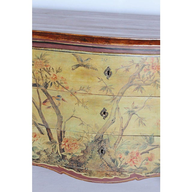 18th Century Italian Painted Commode For Sale - Image 4 of 13
