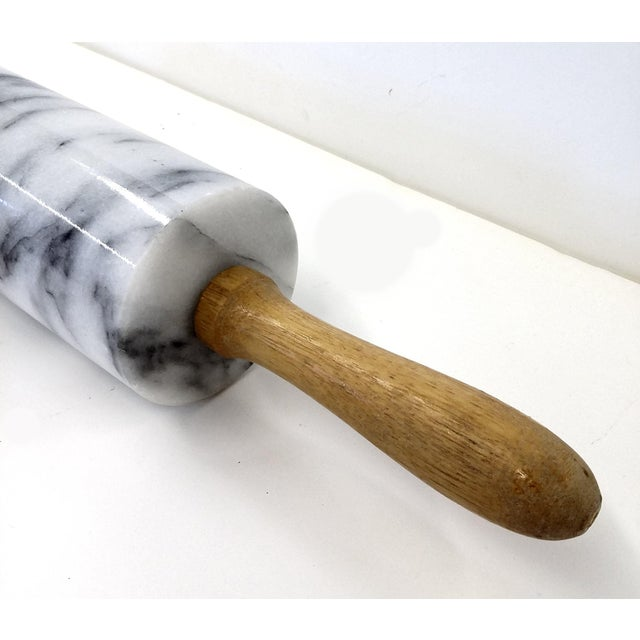 Vintage Solid Marble Rolling Pin - Image 5 of 5