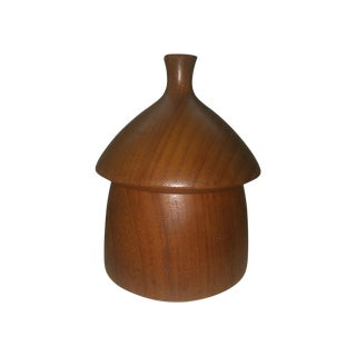 Danish Modern Dansk Acorn Box For Sale