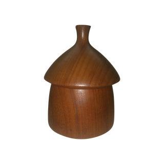 Danish Modern Dansk Acorn Box