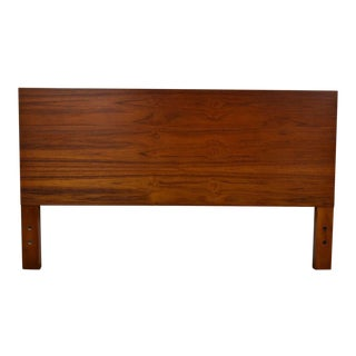 George Nelson Herman Miller Full Walnut Headboard