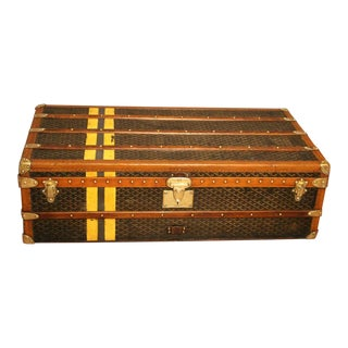1920s Goyard Cabin Trunk For Sale