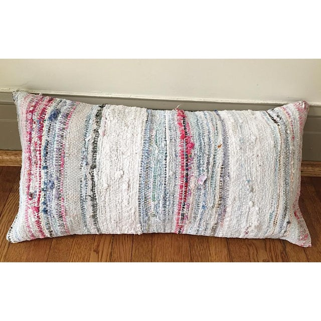 Moroccan Berber Striped Pillow Cover - Image 10 of 10