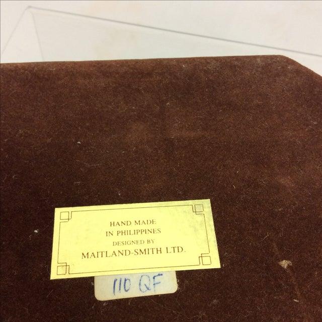 Maitland Smith Tessellated Marble & Malachite Box - Image 11 of 11