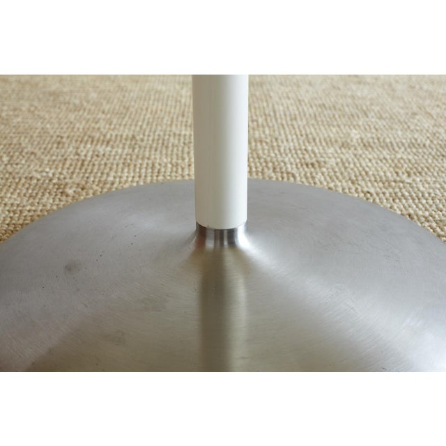 Contemporary Eero Saarinen Oval Tulip Table For Sale - Image 9 of 13