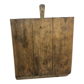 Very Wide Old European Cutting Board For Sale