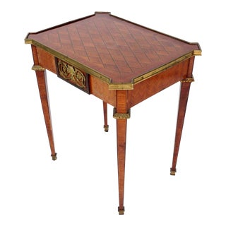 19th Century French Inlaid Table For Sale