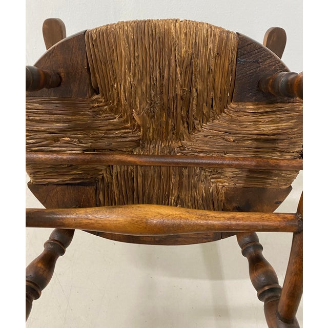 Late 19th Century Childs Windsor Rocking Chair For Sale - Image 9 of 10