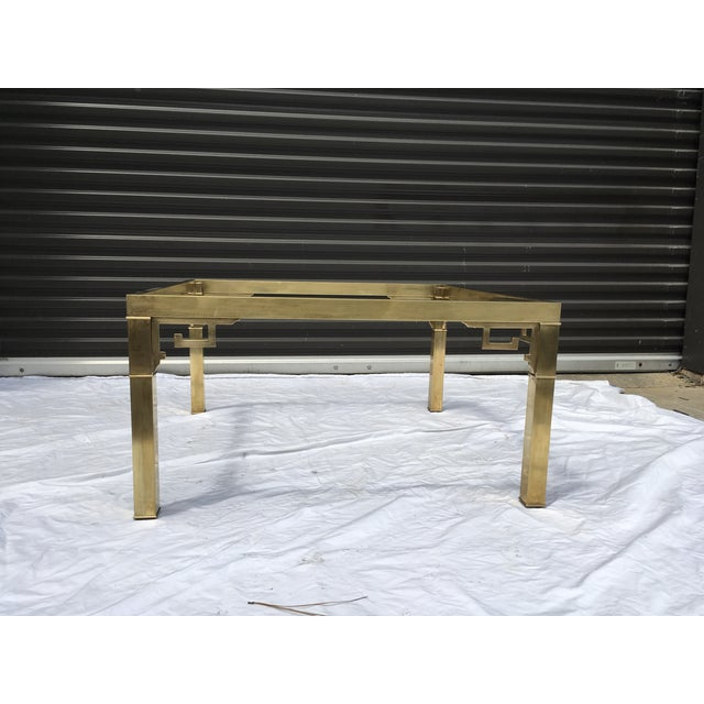 Mastercraft Italian Brass Coffee Table For Sale - Image 12 of 12