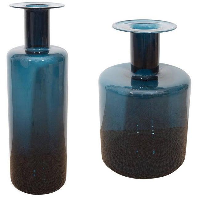 La Sardaigne Midnight Blue Vases - Image 10 of 10