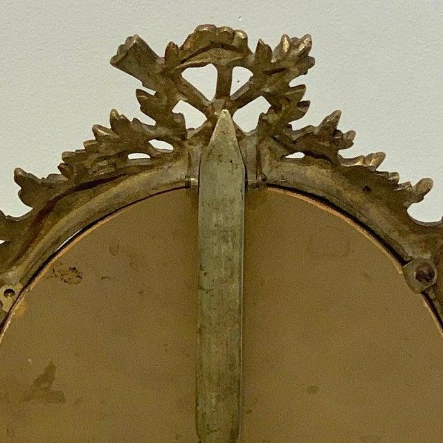 19th Century Napoleon III Bronze Dressing Mirror For Sale - Image 5 of 10