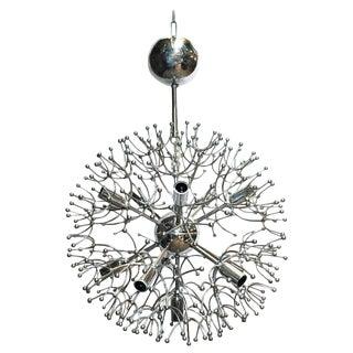 Chrome Sputnik by Sciolari For Sale