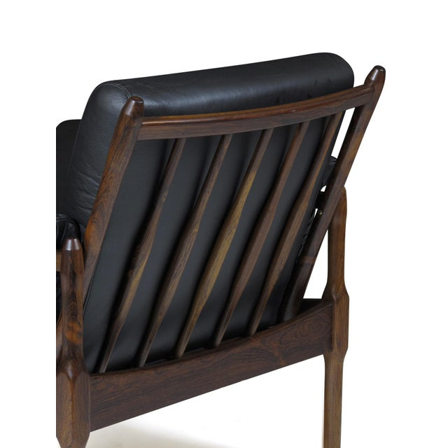 Torbjørn Afdal Rosewood Lounge Chairs - a Pair For Sale In San Francisco - Image 6 of 12