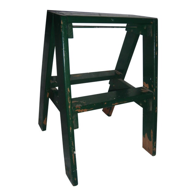 Old Country Step Stool For Sale