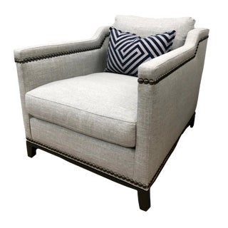Vanguard Furniture Gray Accent Chair For Sale
