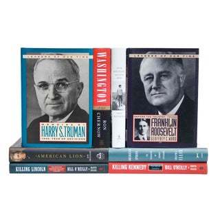 United States Presidents Book Collection - Set of 8 For Sale