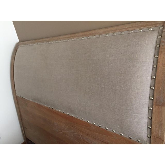 2010s Modern Arhaus Addison Queen Headboard For Sale - Image 5 of 6