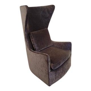 """Milo Baughman """"Feelin' Groovy"""" Swivel Chair"""