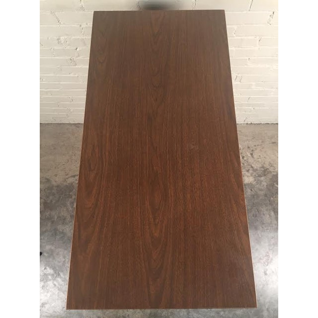 Walnut Mid-Century Modern 4-Drawer Dresser - Image 8 of 8
