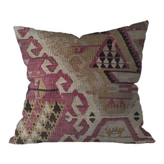 Turkish Kilim Handmade Boho Handwoven Pillow Cover
