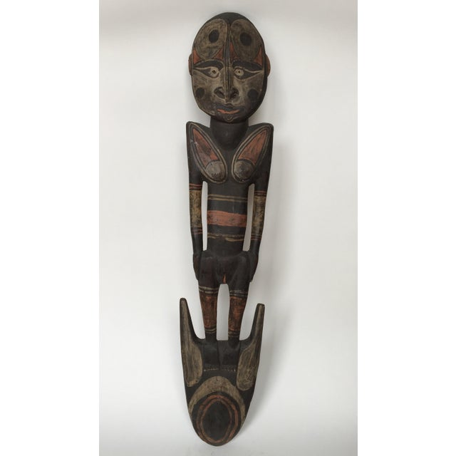 Ancestral female figure sepic river from Papua New Guinea region. Era: 19th Early 20th Century. The material of this is...