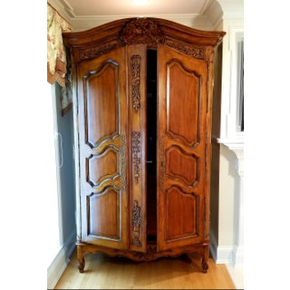 French Drexel Heritage Armoire/ Media Cabinet Preview