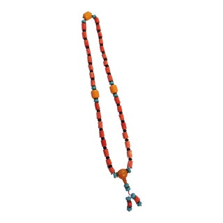 Nepalese Coral /Turquoise /Amber Prayer Beads