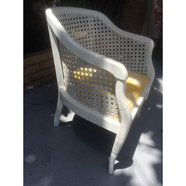 Vintage Cane Tub Chair - Image 5 of 5