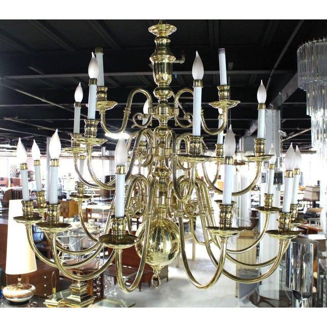 """Nice large vintage candelabra chandelier (40x40"""")"""
