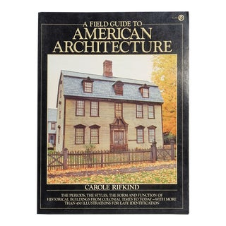 Field Guide to American Architecture For Sale