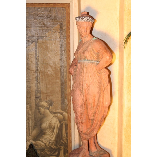 Mid 19th C. English Signed Garden Statuary For Sale In San Diego - Image 6 of 12