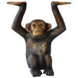 Image of Papier Mâché Chimpanzee by Sergio Bustamante For Sale