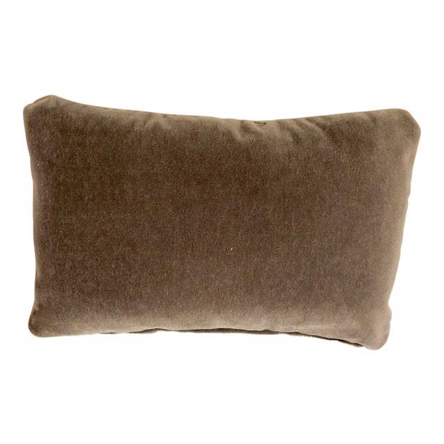 Maharam Mohair Lumbar Pillow Cover For Sale