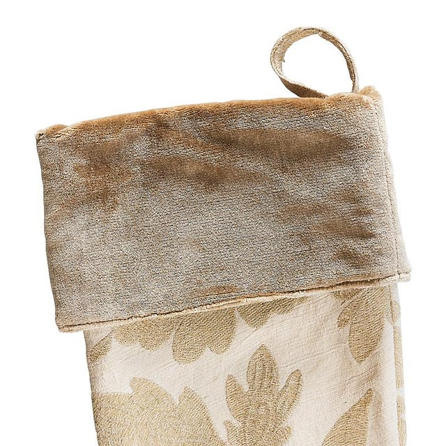 """""""This stocking features Moon Garden. Since 1889 we've been setting the bar with our exceptional products. The pattern..."""