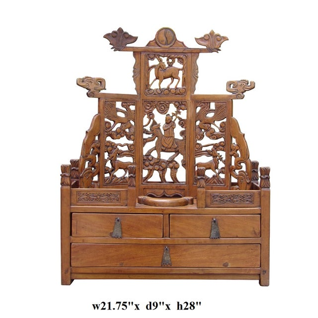 Vintage Chinese Shrine Chest - Image 7 of 7