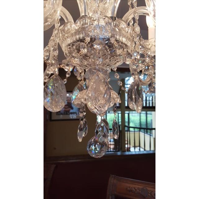 Schonbek Silver Heritage Crystal Chandelier - Image 4 of 6