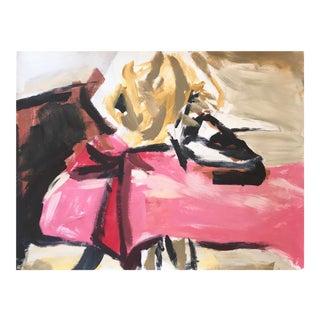 Original Abstract Torero Painting